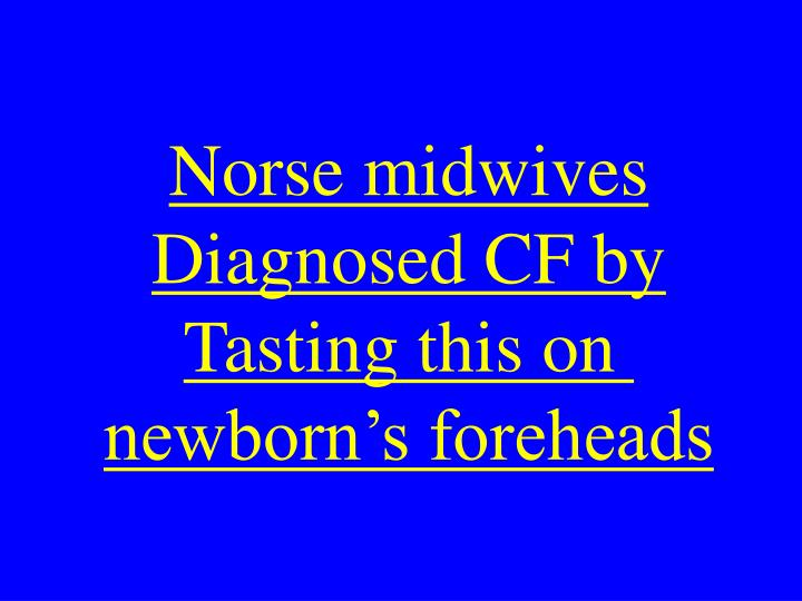 Norse midwives