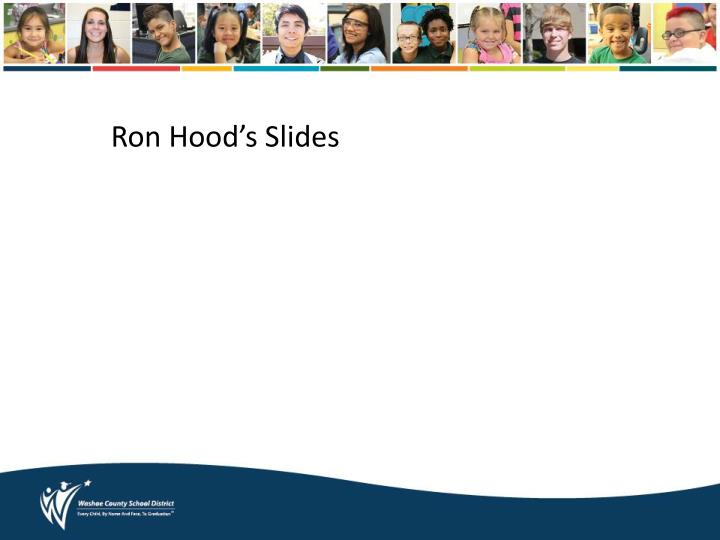 Ron Hood's Slides