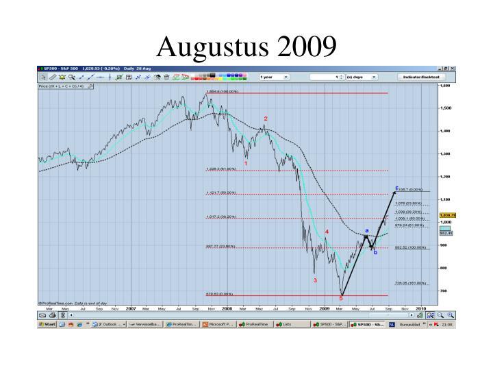 Augustus 2009