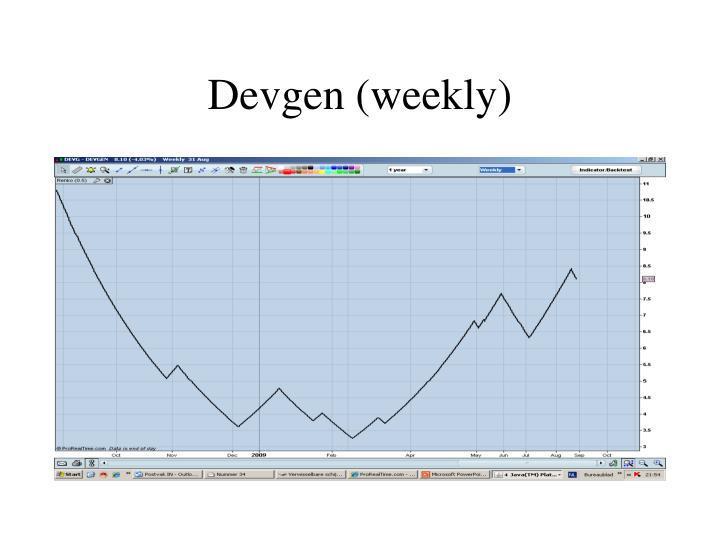 Devgen (weekly)
