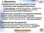 1 biometrics