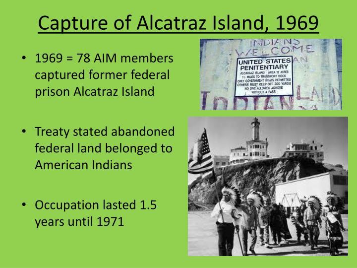 Capture of Alcatraz Island, 1969