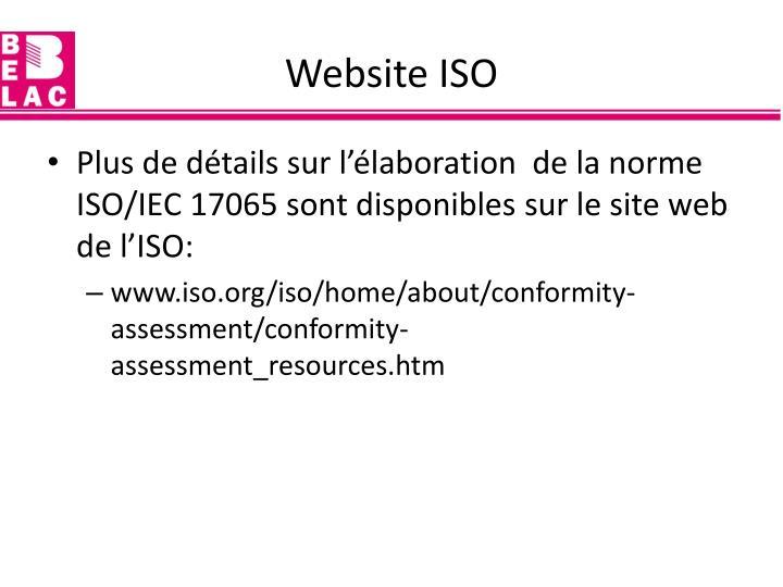 Website ISO
