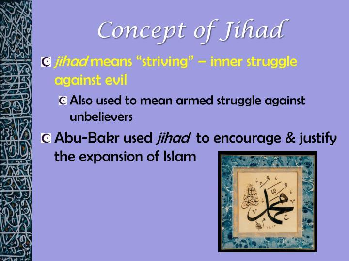 Concept of Jihad