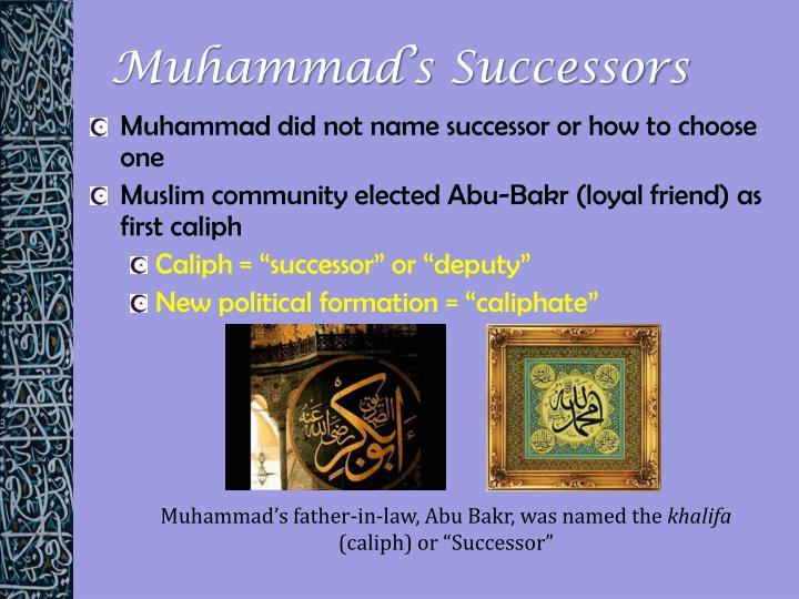 Muhammad's Successors