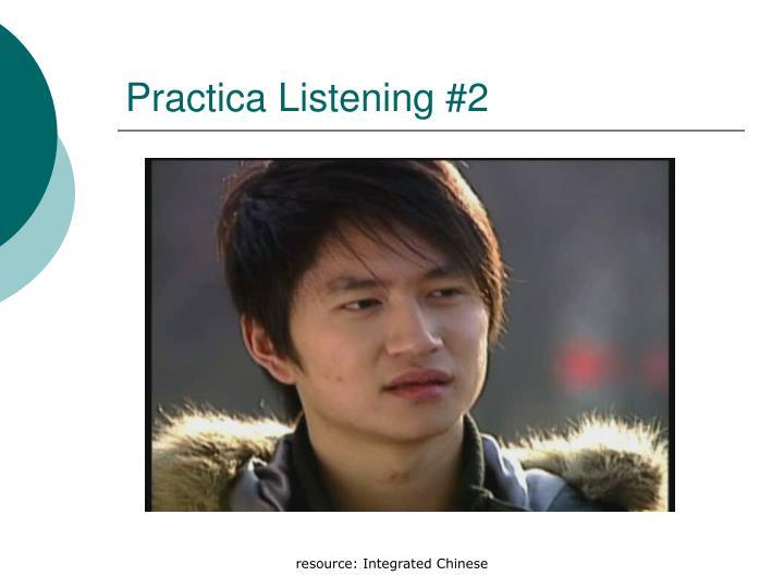 Practica Listening #2