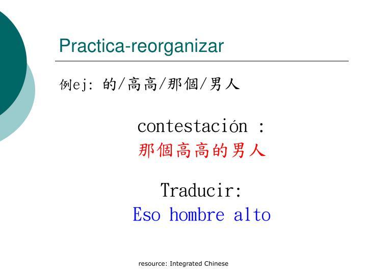 Practica-reorganizar