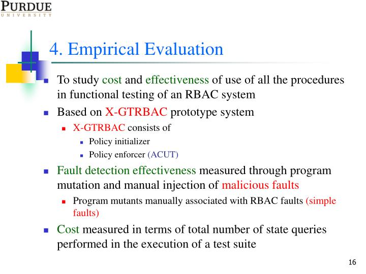 4. Empirical Evaluation