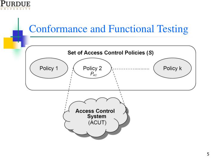 Conformance and Functional Testing