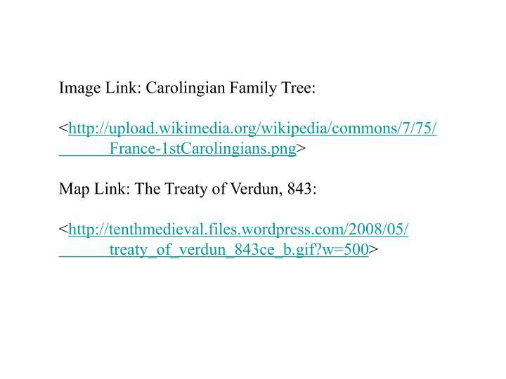 Image Link: Carolingian Family Tree: