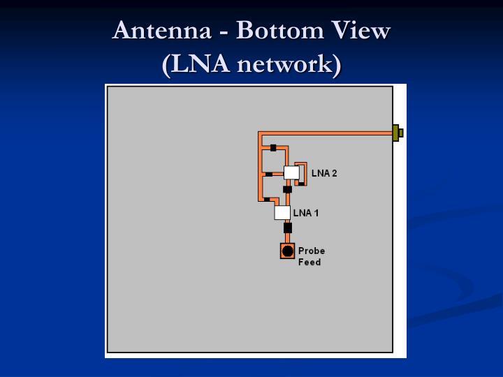 Antenna - Bottom View