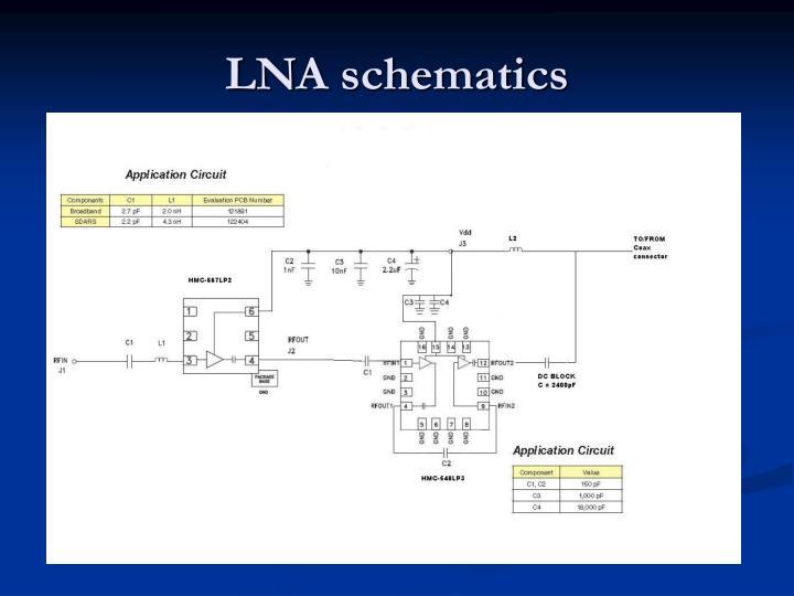 LNA schematics