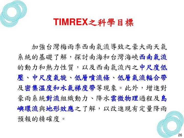 TIMREX