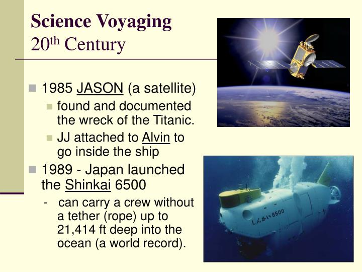 Science Voyaging