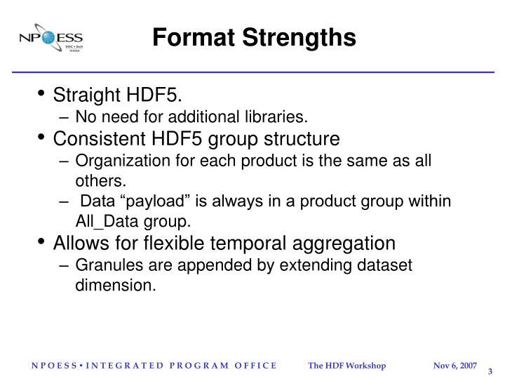 Format Strengths
