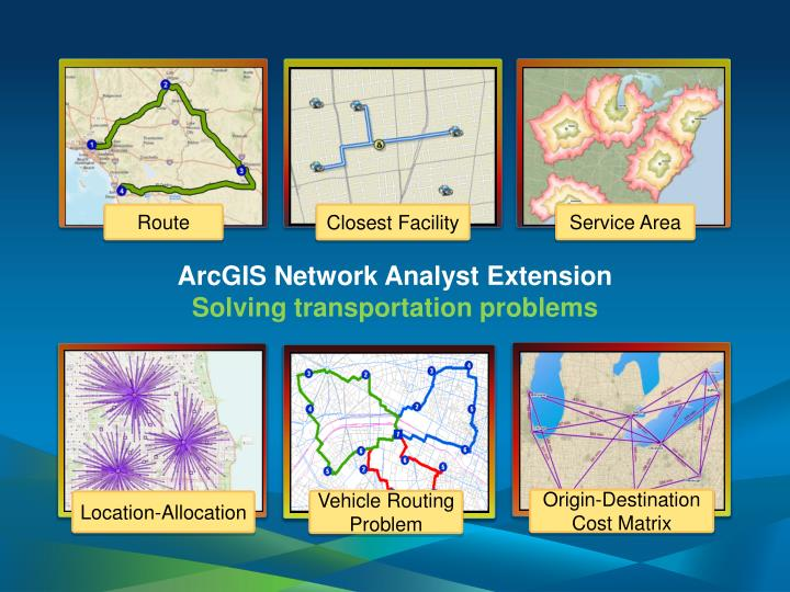ArcGIS Network Analyst Extension