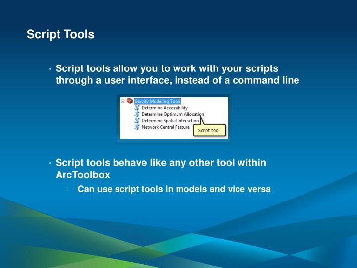 Script Tools