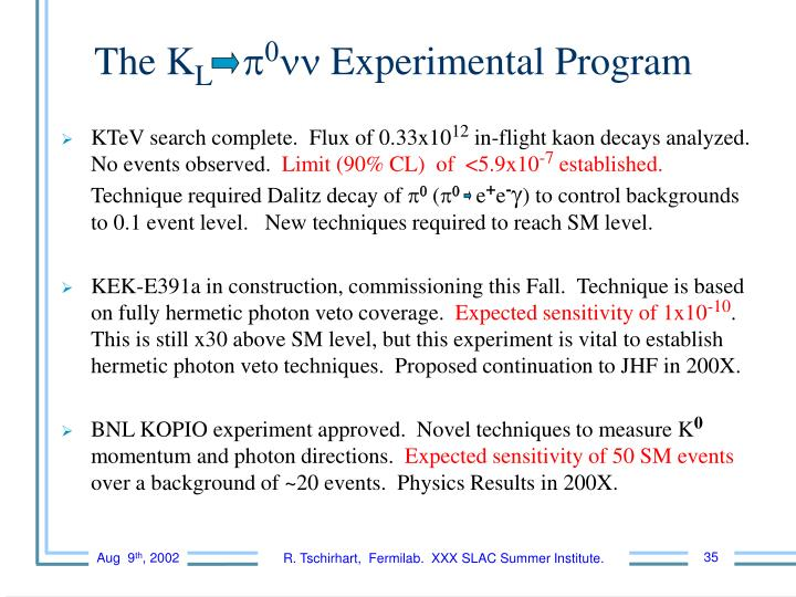 KTeV search complete.  Flux of 0.33x10