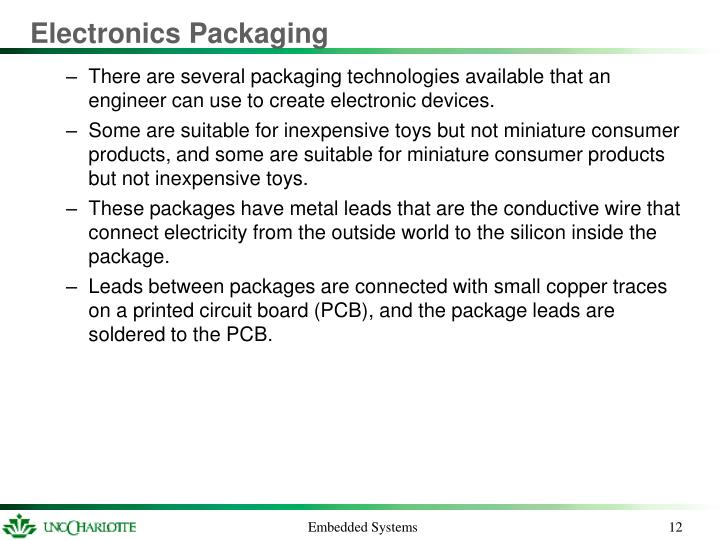 Electronics Packaging