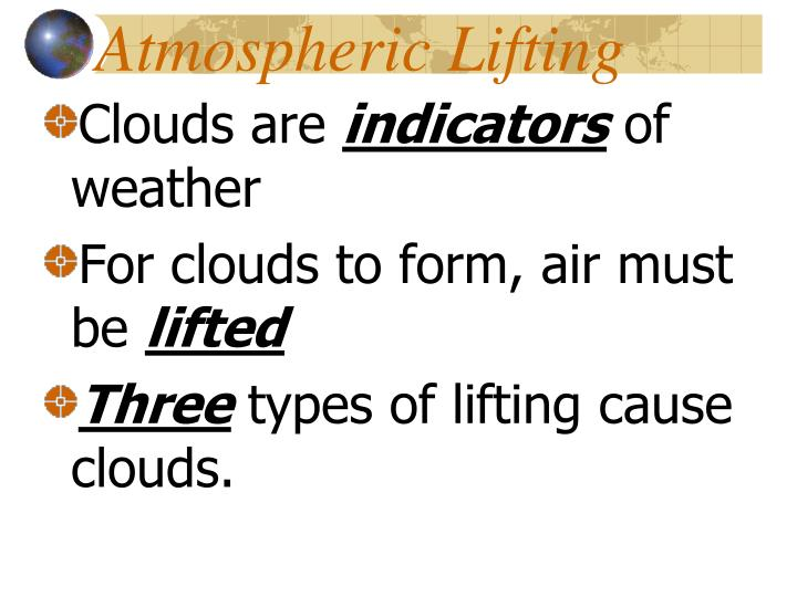 Atmospheric Lifting