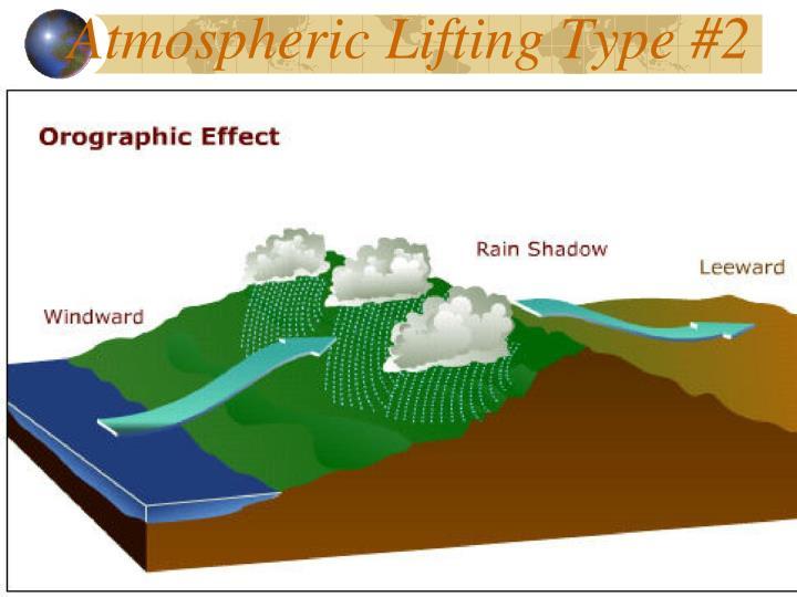 Atmospheric Lifting Type #2