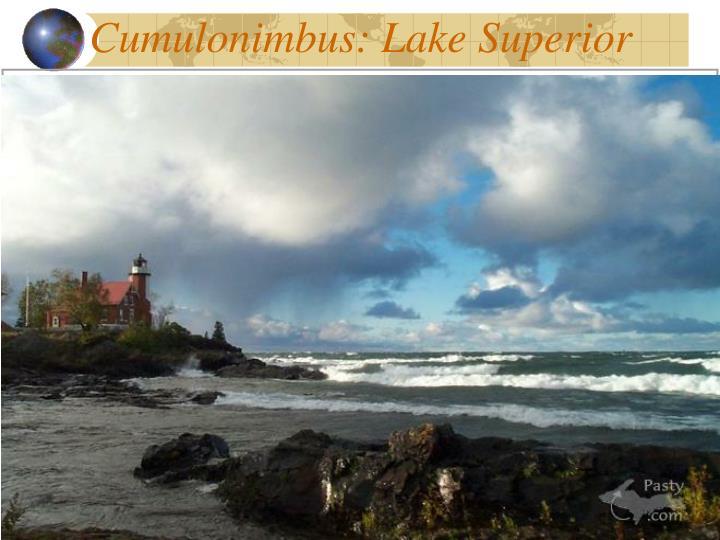 Cumulonimbus: Lake Superior