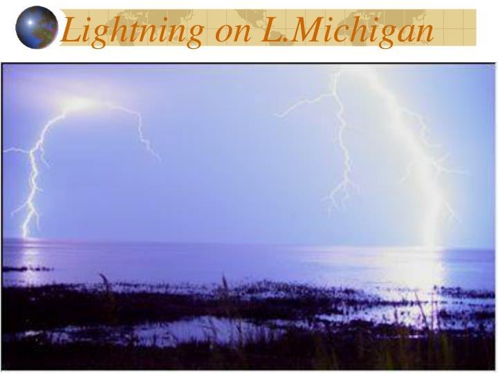 Lightning on L.Michigan