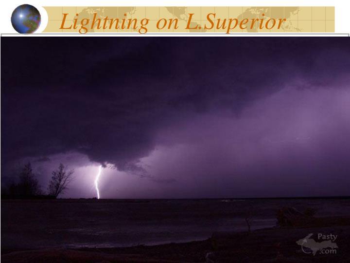 Lightning on L.Superior