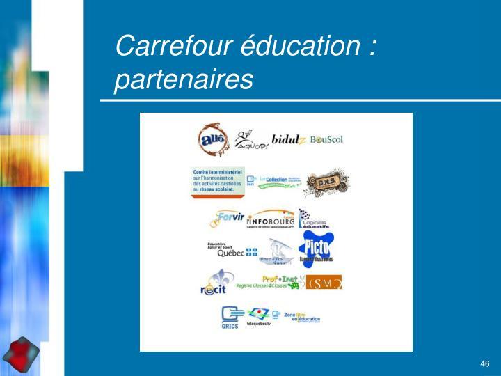 Carrefour éducation :