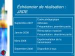 ch ancier de r alisation jade