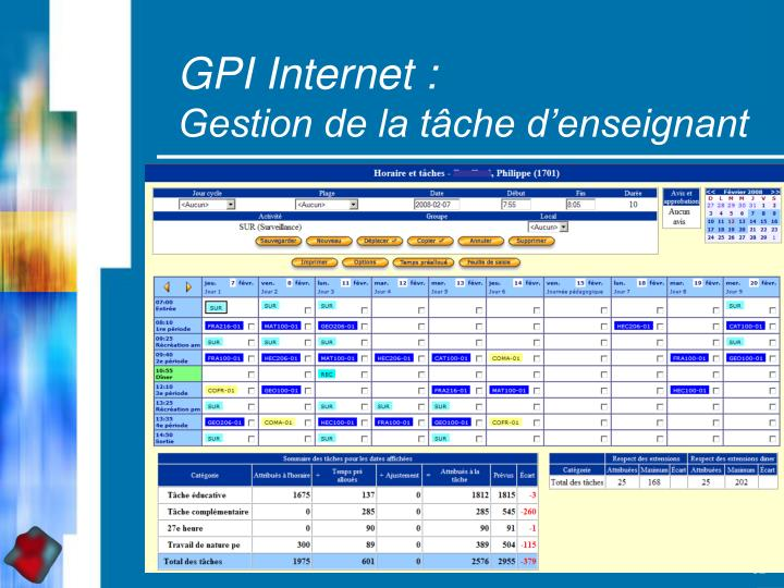 GPI Internet :