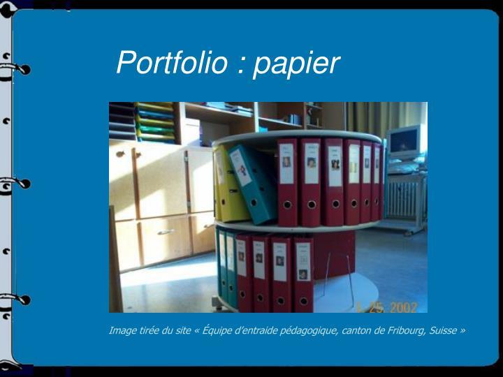 Portfolio : papier