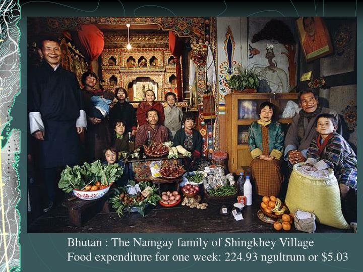 Bhutan : The Namgay family of Shingkhey Village