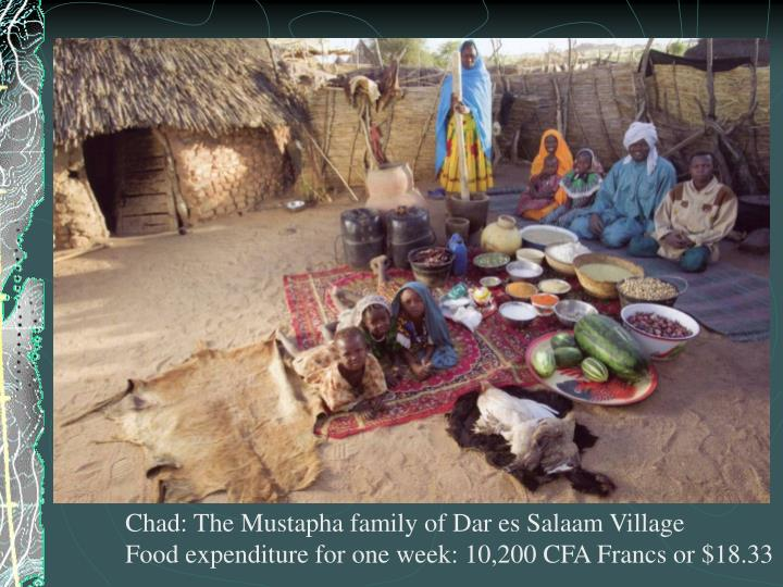 Chad: The Mustapha family of Dar es Salaam Village