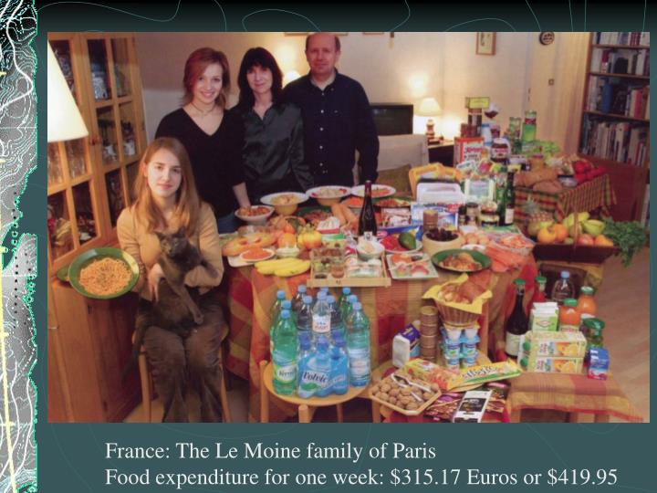 France: The Le Moine family of Paris