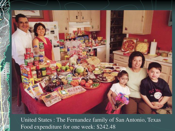 United States : The Fernandez family of San Antonio, Texas