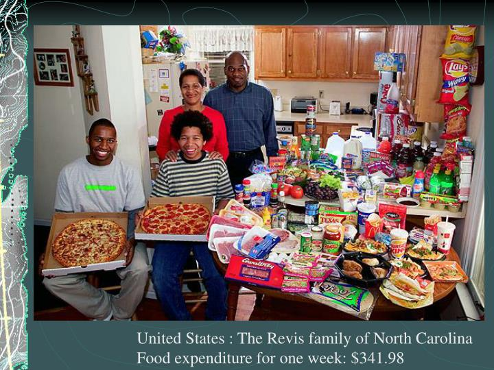United States : The Revis family of North Carolina