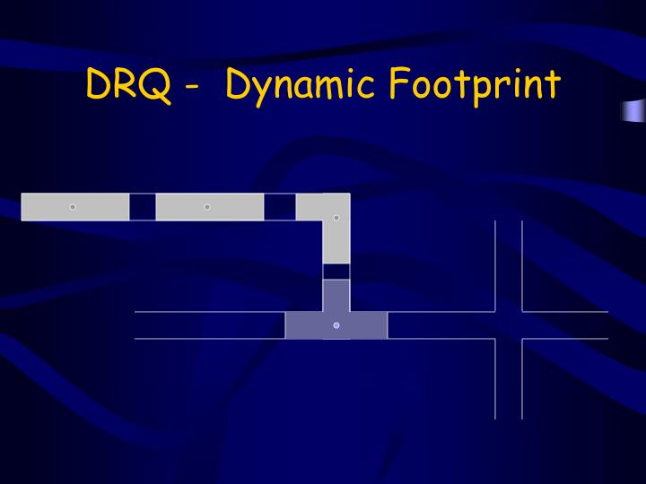 DRQ -  Dynamic Footprint