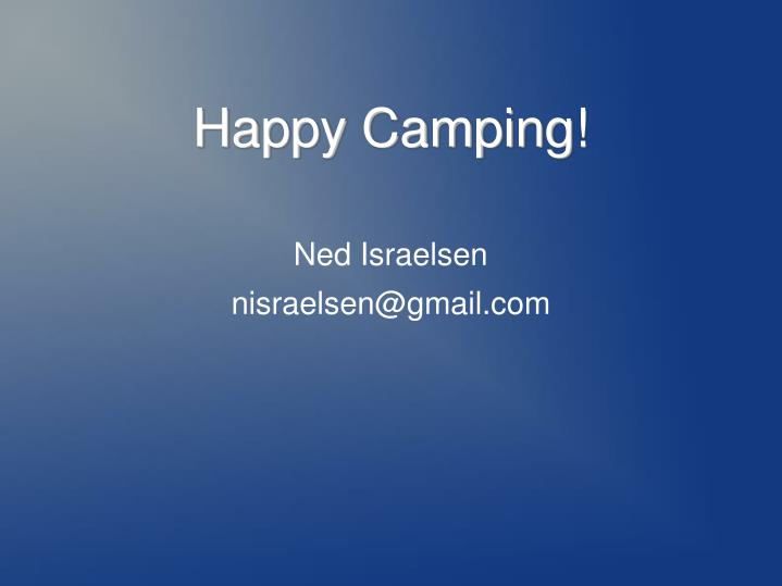 Happy Camping!