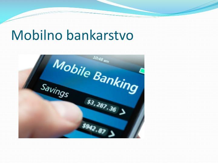 Mobilno bankarstvo