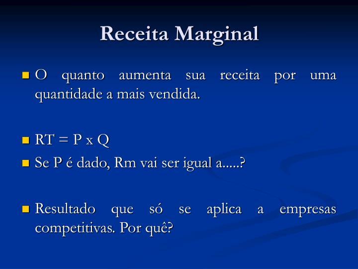 Receita Marginal