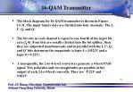 16 qam transmitter