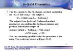 16 qam transmitter5