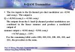 8 qam transmitter6