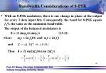 bandwidth considerations of 8 psk1
