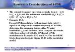 bandwidth considerations of 8 psk2