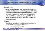 bandwidth considerations of qpsk2