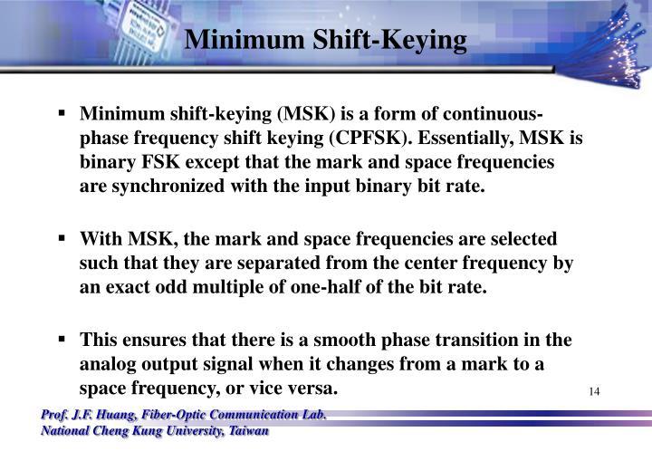 Minimum Shift-Keying