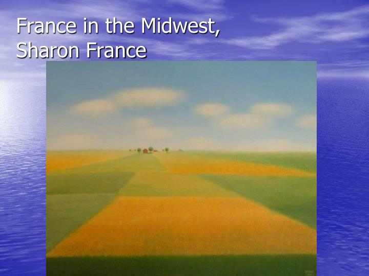 France in the Midwest,