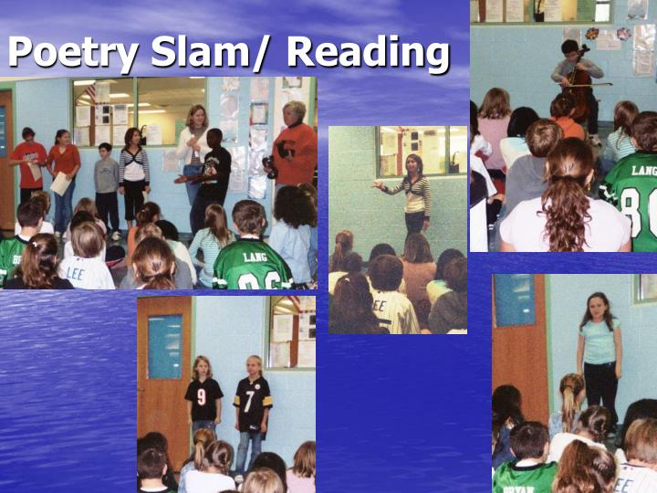 Poetry Slam/ Reading